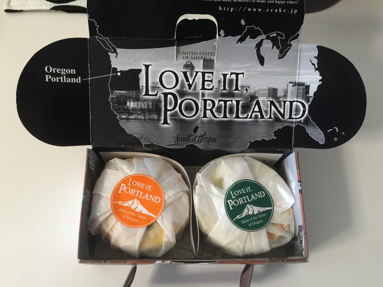 名古屋市名東区にある スイートオブオレゴンのチーズケーキ