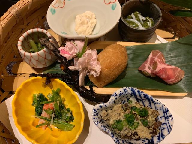 名古屋市千種区 「割烹 かわとみ」 初春の限定コース料理