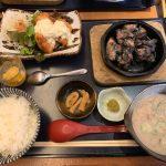 大名古屋ビルヂングの宮崎料理店「万作」でチキン南蛮、炭火焼などの宮崎名物セット