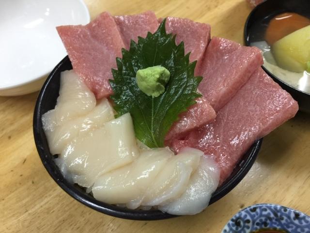 小樽駅 三角市場で海鮮丼 その1「味処 たけだ」