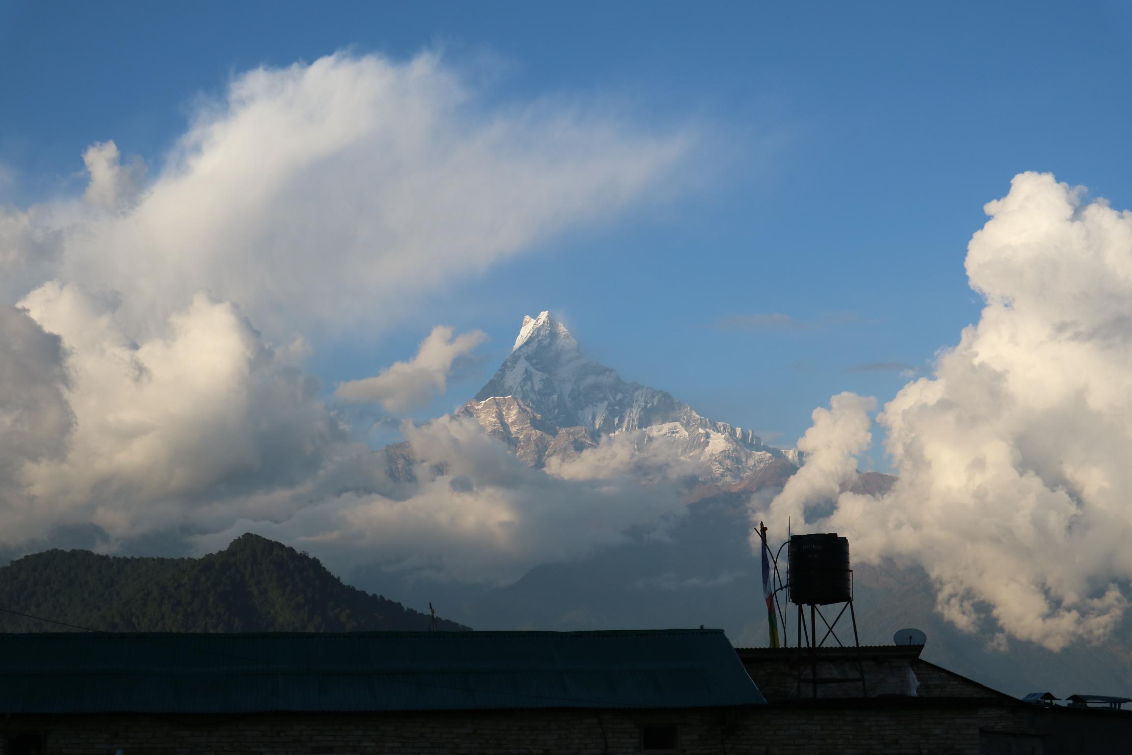 ネパール旅行 3 ポカラ観光とオーストラリアンキャンプ ハイキング その1