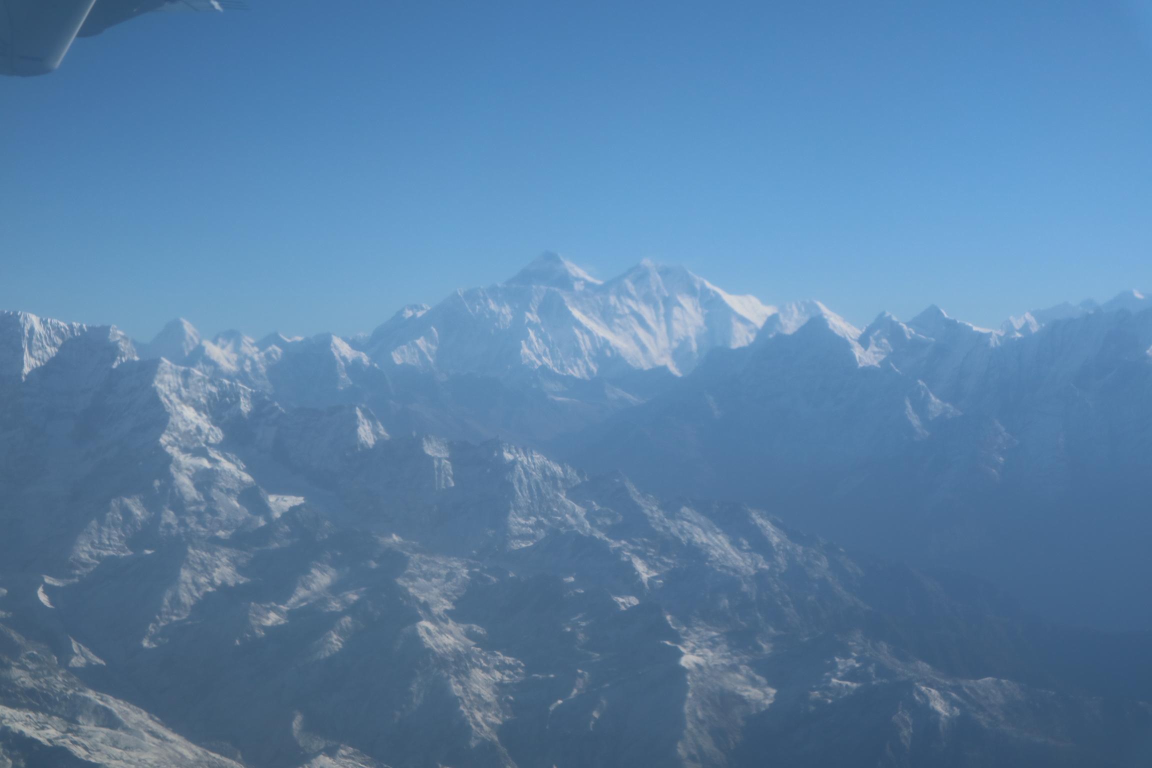 ネパール旅行記 6 エベレスト遊覧飛行