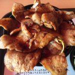刈谷ハイウェイオアシスで食事 カツなり家の「はみでる豚丼」