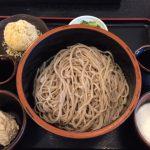 長野駅の信州そば「草笛」でくるみ蕎麦を食べてきました