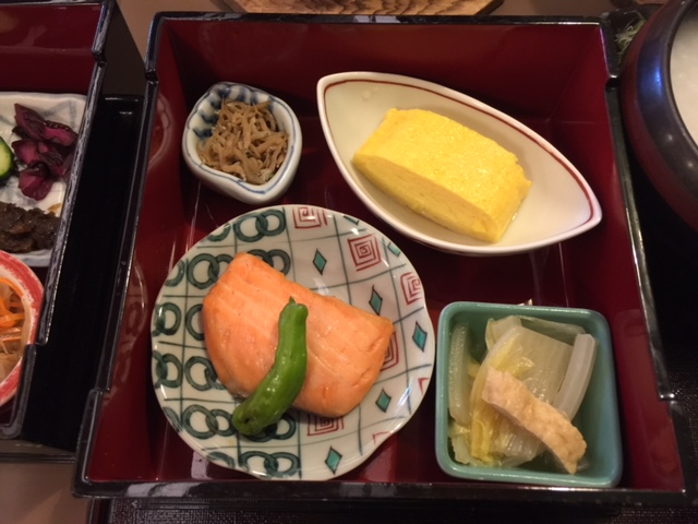 ANAクラウンプラザ京都の雲海で和朝食をいただきました