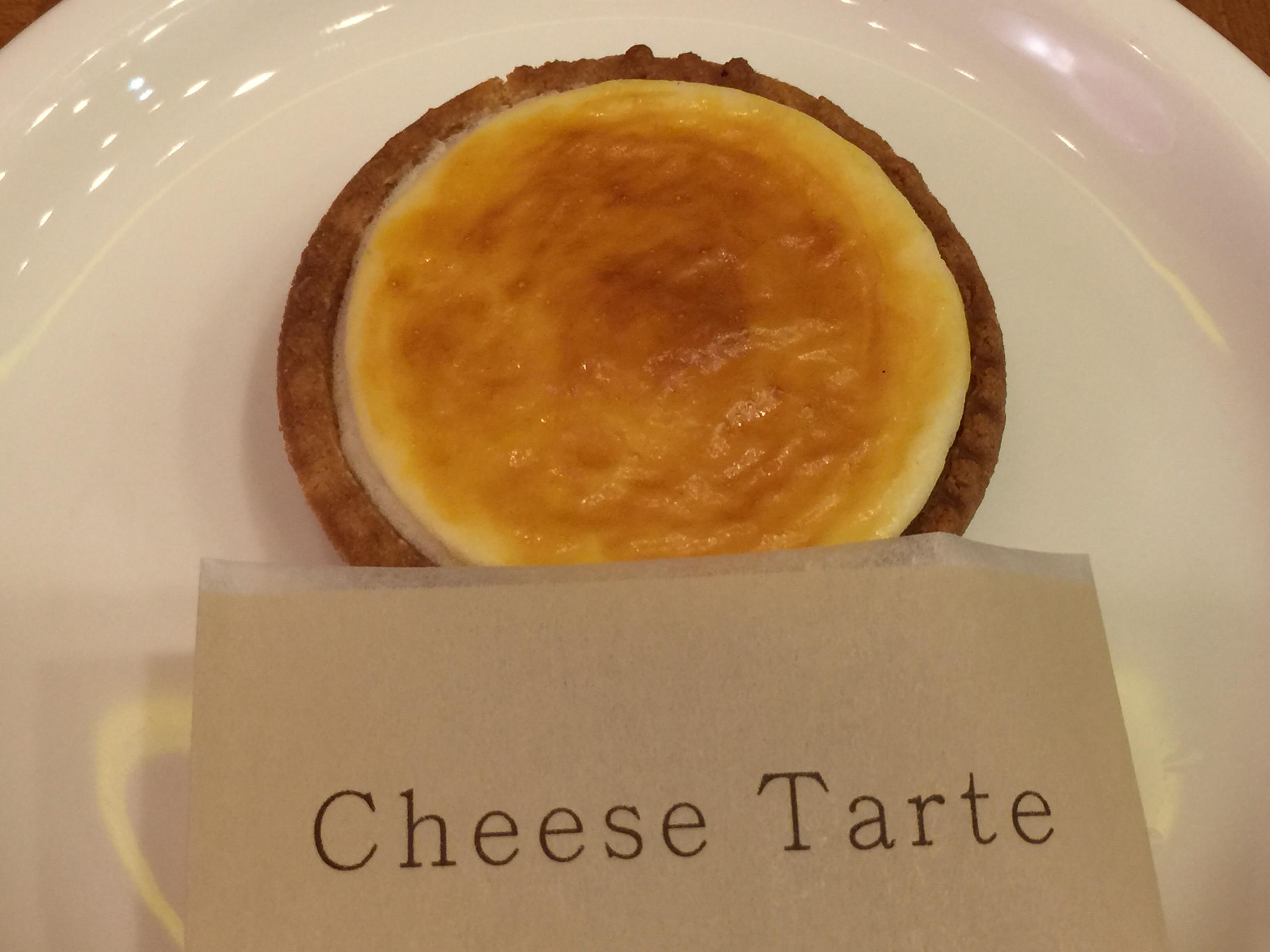 チーズタルトで有名な「きのとや」の カフェ 札幌大丸店