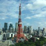 ザ・プリンス・パークタワー東京の「パノラマ33」で東京タワーを眺めながら朝食